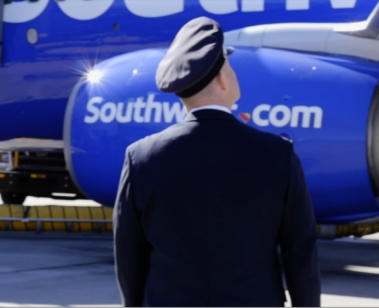 Southwest Airlines Pilot Spot